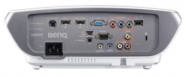 BenQw3000-Rear