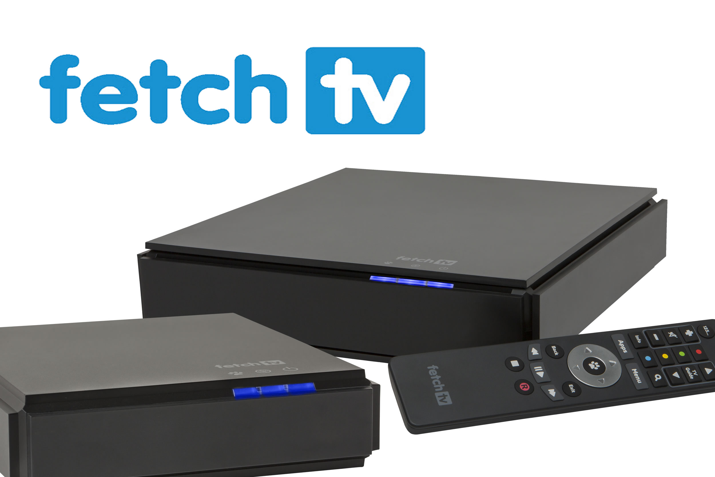 how to connect fetch tv box
