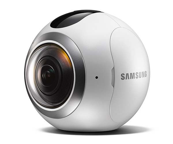 samsung gear 360 action camera with dual fisheye lenses 1 Samsung Launches 360 Degree Camera, But Get In Quick As Stock Is Limited