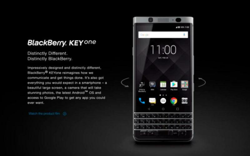 New $799 KeyOne Blackberry Revealed, May Launch – channelnews