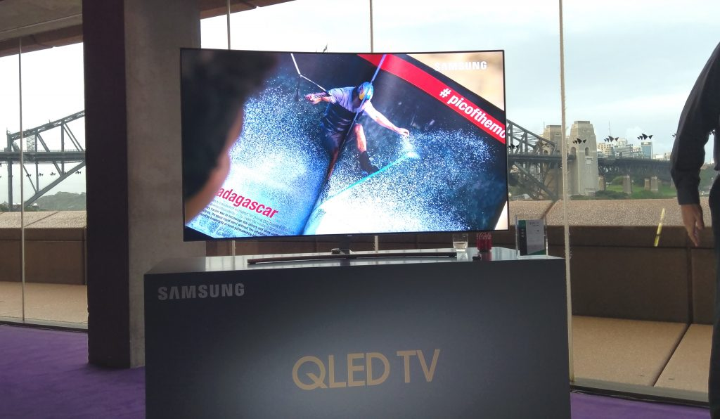 IMAG0014 1024x596 Samsung Show Off QLED At Launch Event