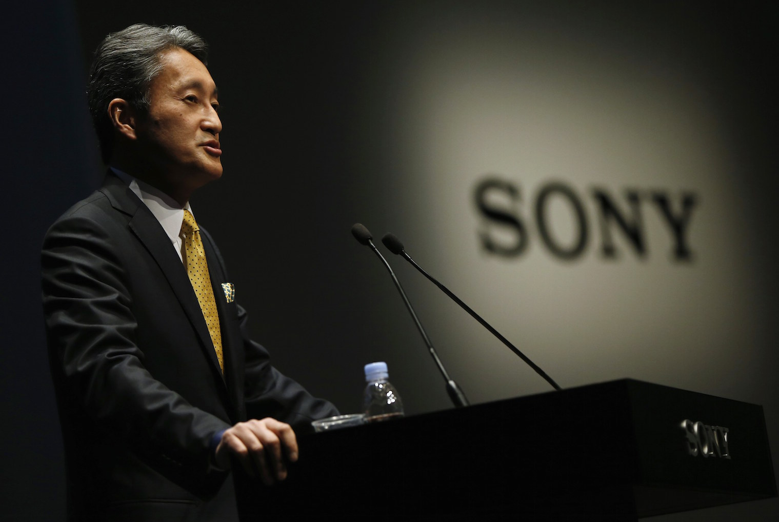 Sony's operating profit triples to record for April-June