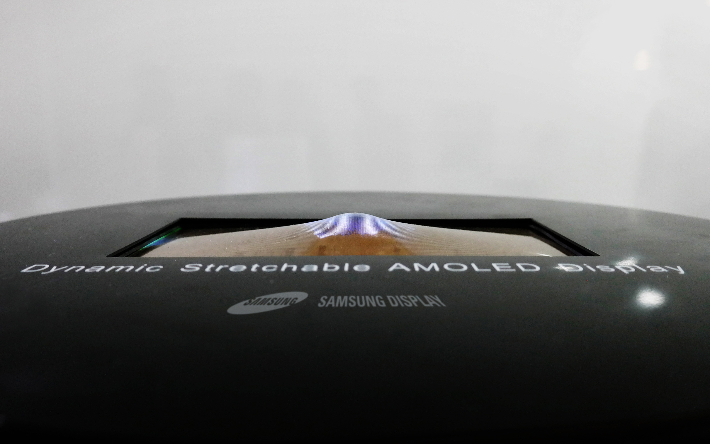 Samsung to unveil world's first stretchable display