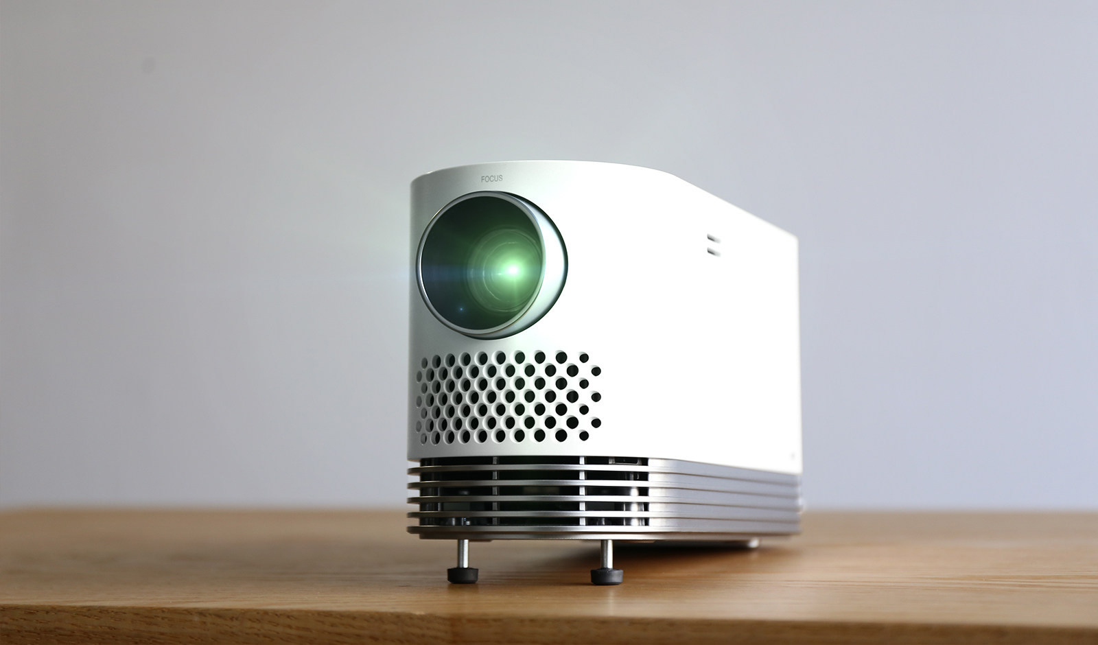 Lg releases bright affordable laser projector channelnews for Best portable laser projector