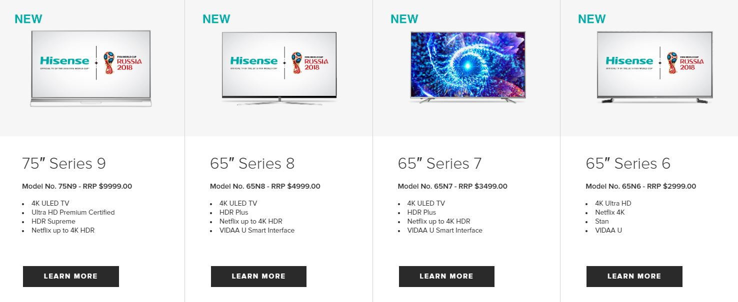 Hisense Lift TV Prices By Up To 100% As They Struggle To