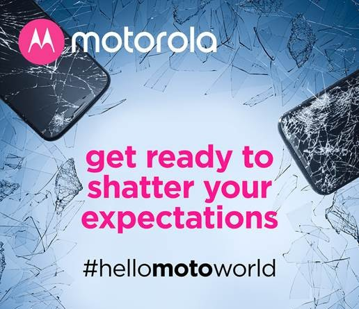 Motorola releases new press invite for smartphone with shatterproof display