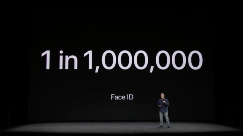 Apple September 2017 iPhone X keynote  2017 09 12 at 11.29.54 AM 780x439 2 What Happens If Apples Face ID Fails?