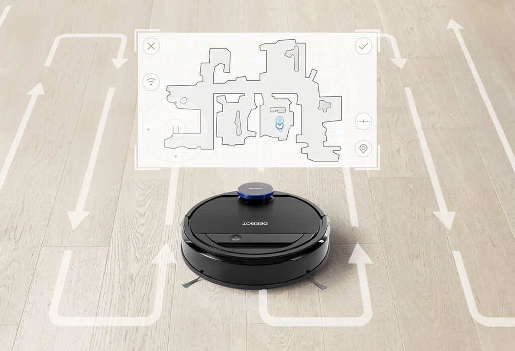 OZMO 930 Visual Map For Customized Cleaning 1024x698 IFA 2017: Ecovacs Unveil Google Home Enabled Vacuum Robot Prior To Australian Debut