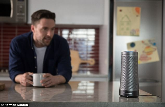 401A33FF00000578 0 image a 17 1494267553962 Microsoft Takes On Alexa With Harmans Cortana Supported Speaker