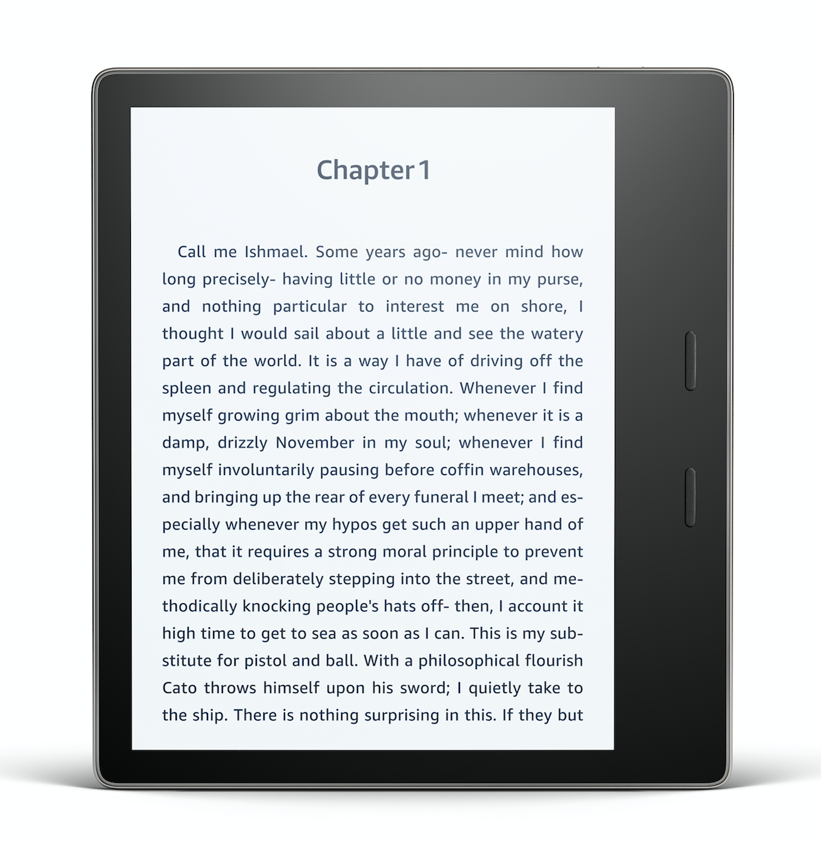 Amazon Canada Unveils Kindle Oasis: