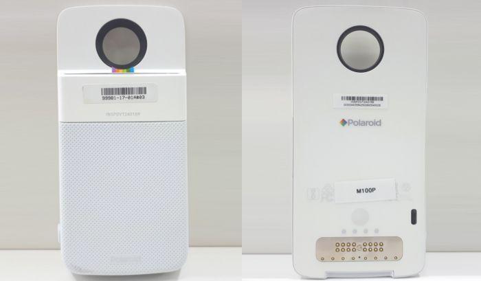 Polaroid Moto Mod Leaked: Polaroid Printer & Alexa Smart Speaker Moto Mods