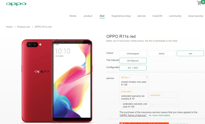 r111 oppposo Oppo Reveals R11s Ahead Of Official Launch