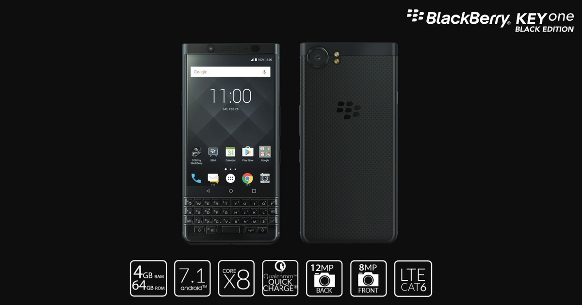 BlackBerry KEYone Black Edition Specs 0 REVIEW: The KEYone Black Is For BlackBerry Fans, And Little Else