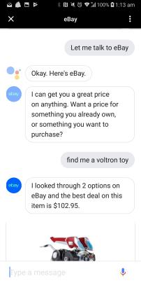 eBay 2 eBay Google Assistant App Launches Ahead Of Amazon Australia