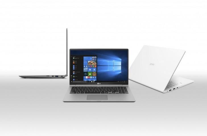 New LG gram laptops put the webcam back where it belongs