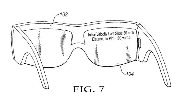 a333015b0bb Nike is helping fellow golfers by patenting a set of AR glasses they would  wear giving real time analysis when out on the golf course including  tracking the ...