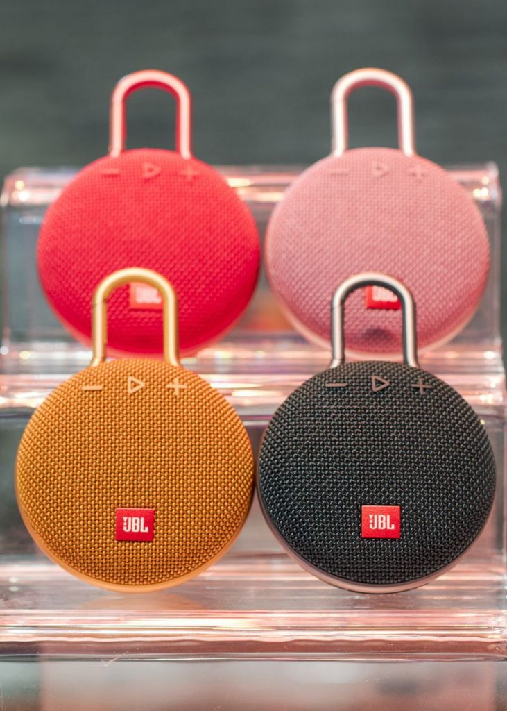 JBL Clip3 731x1024 CES 2018: JBL Releases Google Assistant Headphones, Sports Headphones and Updated Speakers