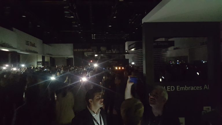 Power Blackout at Las Vegas Convention Center Impacts CES