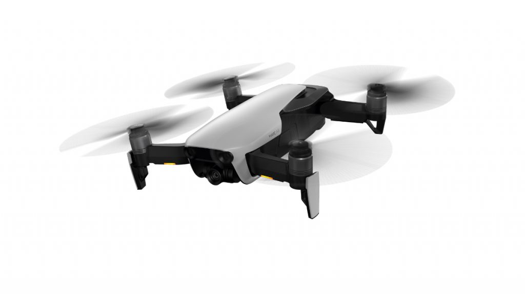 Mavic Air Arctic White flying preview 1024x575 DJI Unveils The Mavic Air, A Pocket Sized Drone