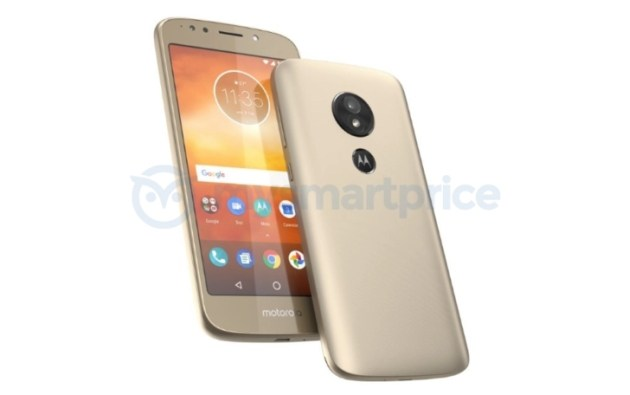 Moto E5 appears in leaked image sporting rear fingerprint sensor