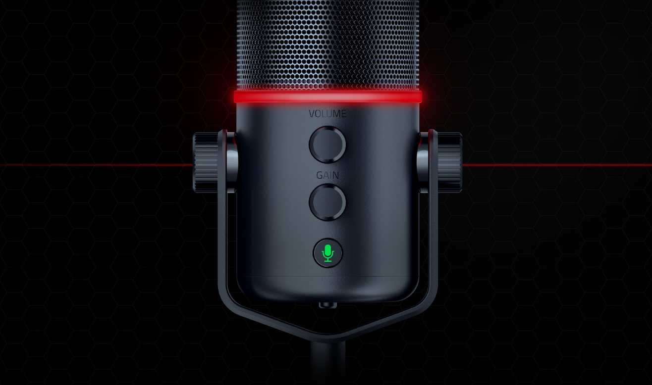 Razer Microphone 3 Razer Releases Pro Grade Mic For E Sports Streaming