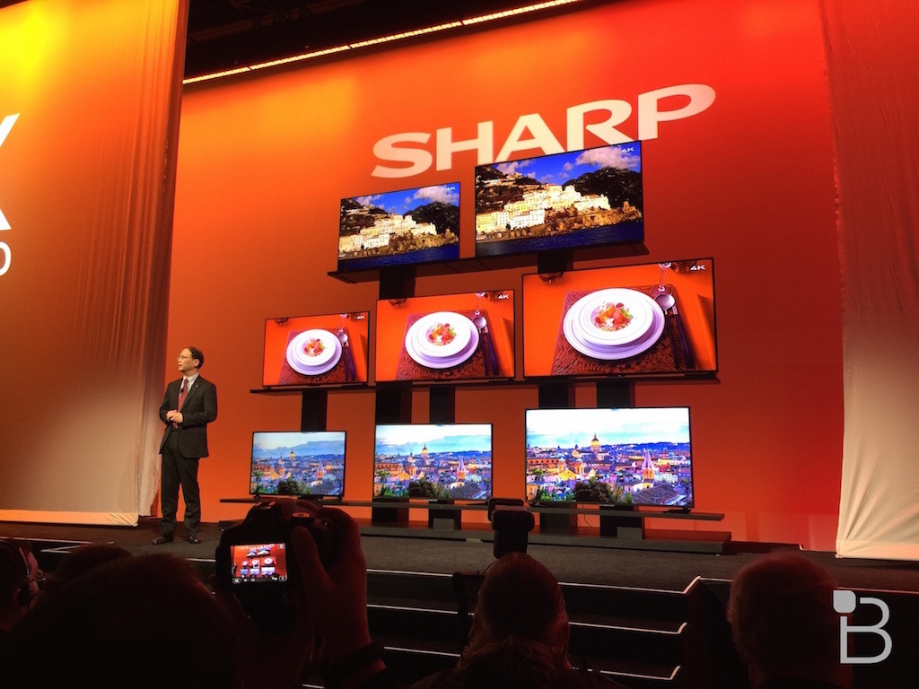 Sharp 4k TV press ces 5 Sharp Say No To TVs IN OZ, As Disties & Retailers Try To Get The Rights