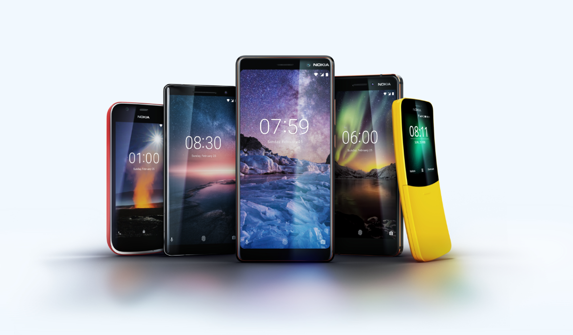 Nokia Phones MWC 2018 Nokia & Huawei Tipped To Launch 5G Smartphones Early 2019