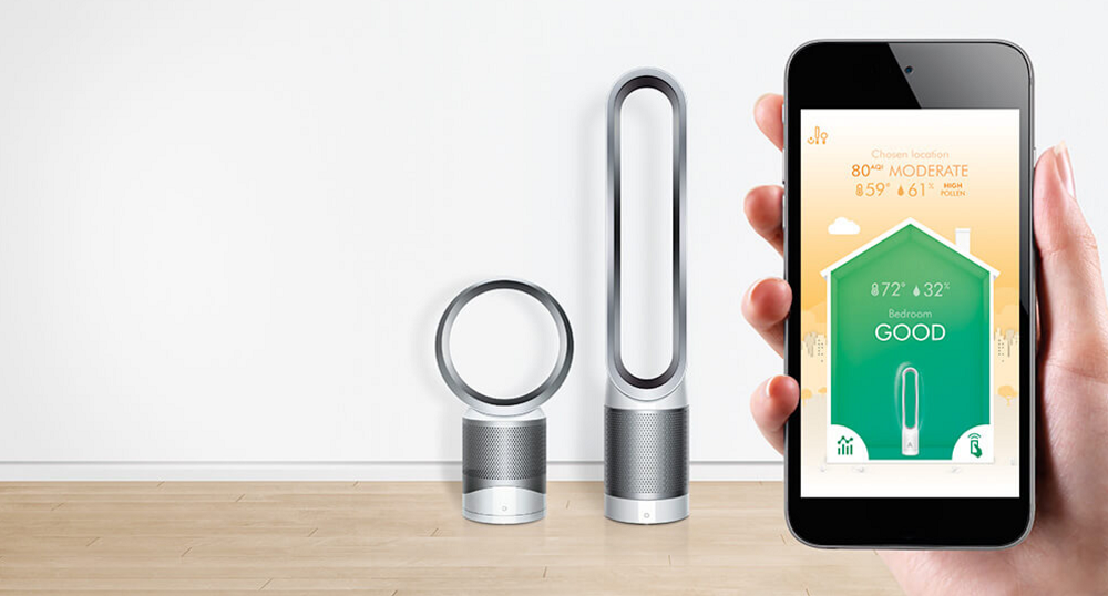 Dyson Unveils New Air Purifying Fans For Healthier Homes