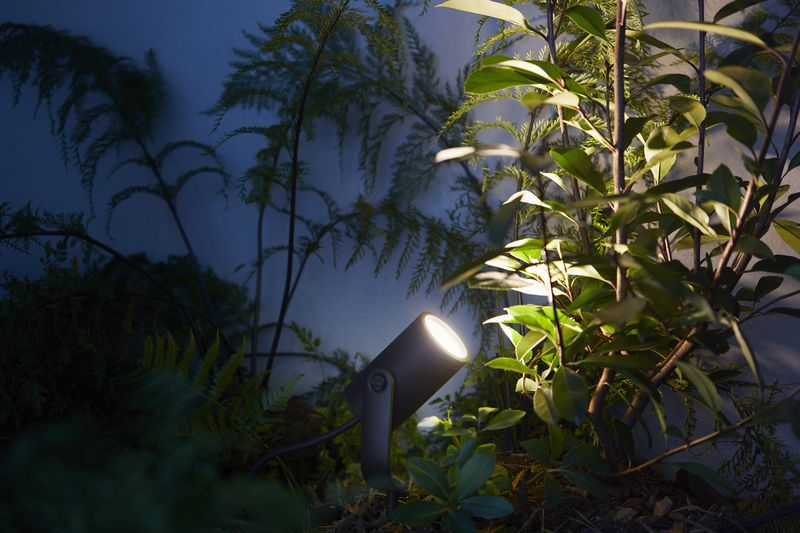 Philips Hue outdoor Lily spot 2 Philips Unveils New 'Hue' Smart Lights For Outdoors
