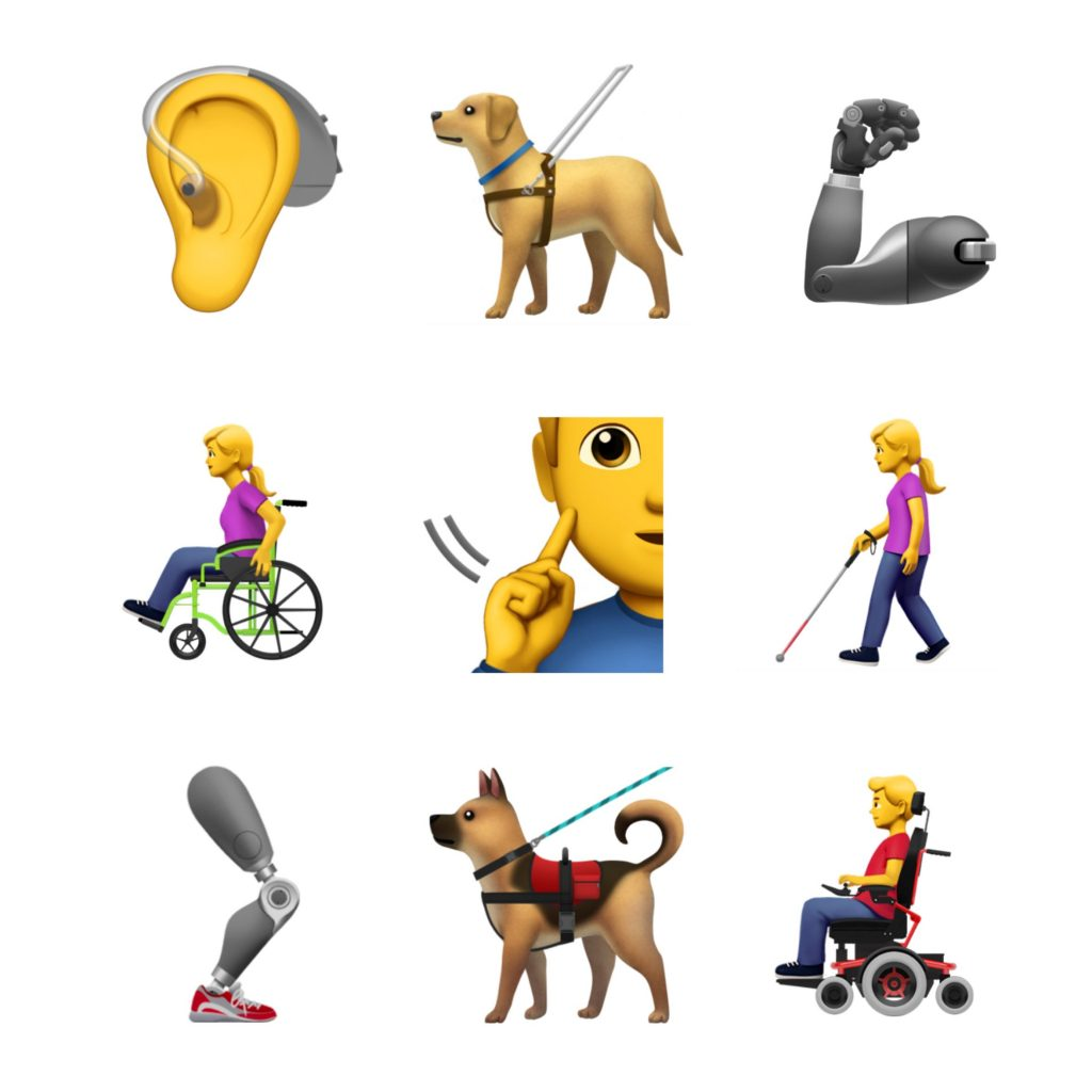 apple accessible emoji proposed 2018 emojipedia 1024x1024 Apple Gets Socially Inclusive With Proposed Accessibility Emojis