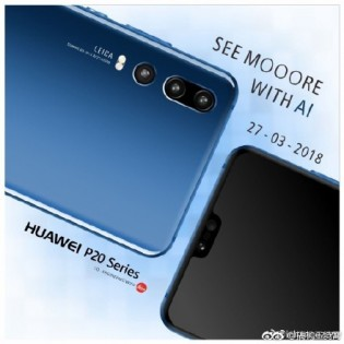gsmarena 002 Huawei P20 Takes On Samsung With Triple Camera Set Up