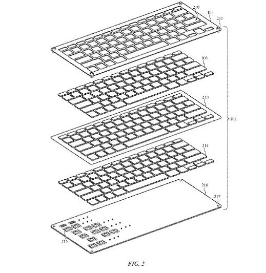 macbook keyboard crumb 1 Apple May Launch 'Crumb Resistant' MacBook & Cheap HomePod