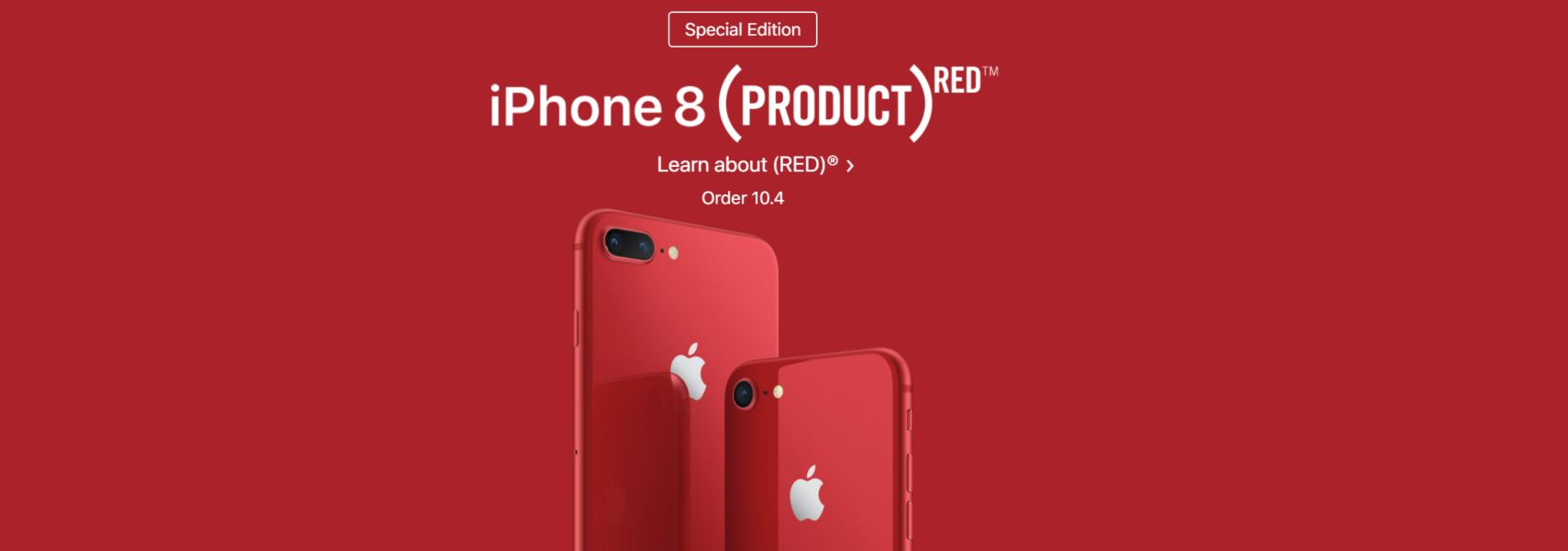 Capture Apple Launch New Red iPhone Only Available At Apple Stores