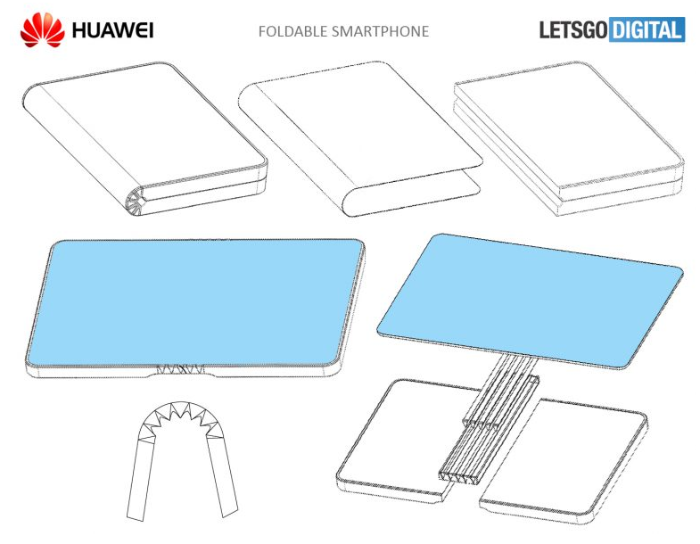 Huawei Foldable Smartphone Huawei Foldable Smartphone Tipped To Release Late 2018