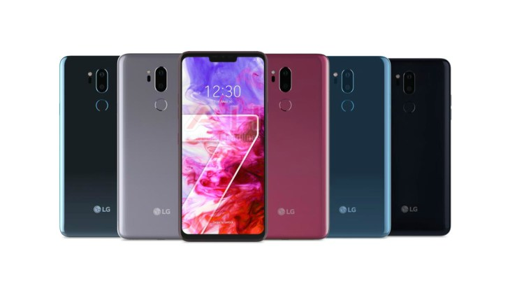 LG G7 ThinQ Official AH 01 LG To Launch New 'G Series' Phone Next Month