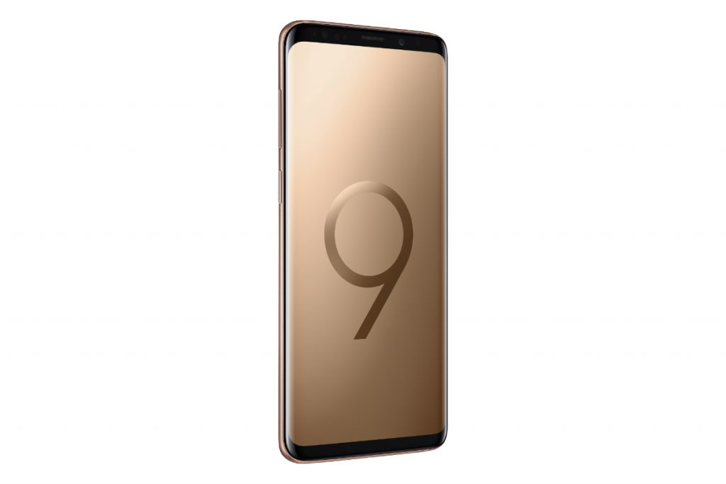 Galaxy S9 Plus Sunrise Gold 2 1024x683 Samsung Brings Out Gold And Red Editions For S9 and S9+