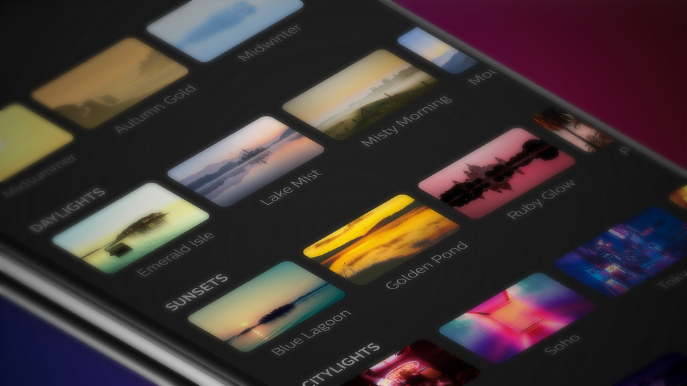 Philips Lighting Philips Hue app update Scene Library 1 Philips To Release Major Update For Hue Smart Lights This Month