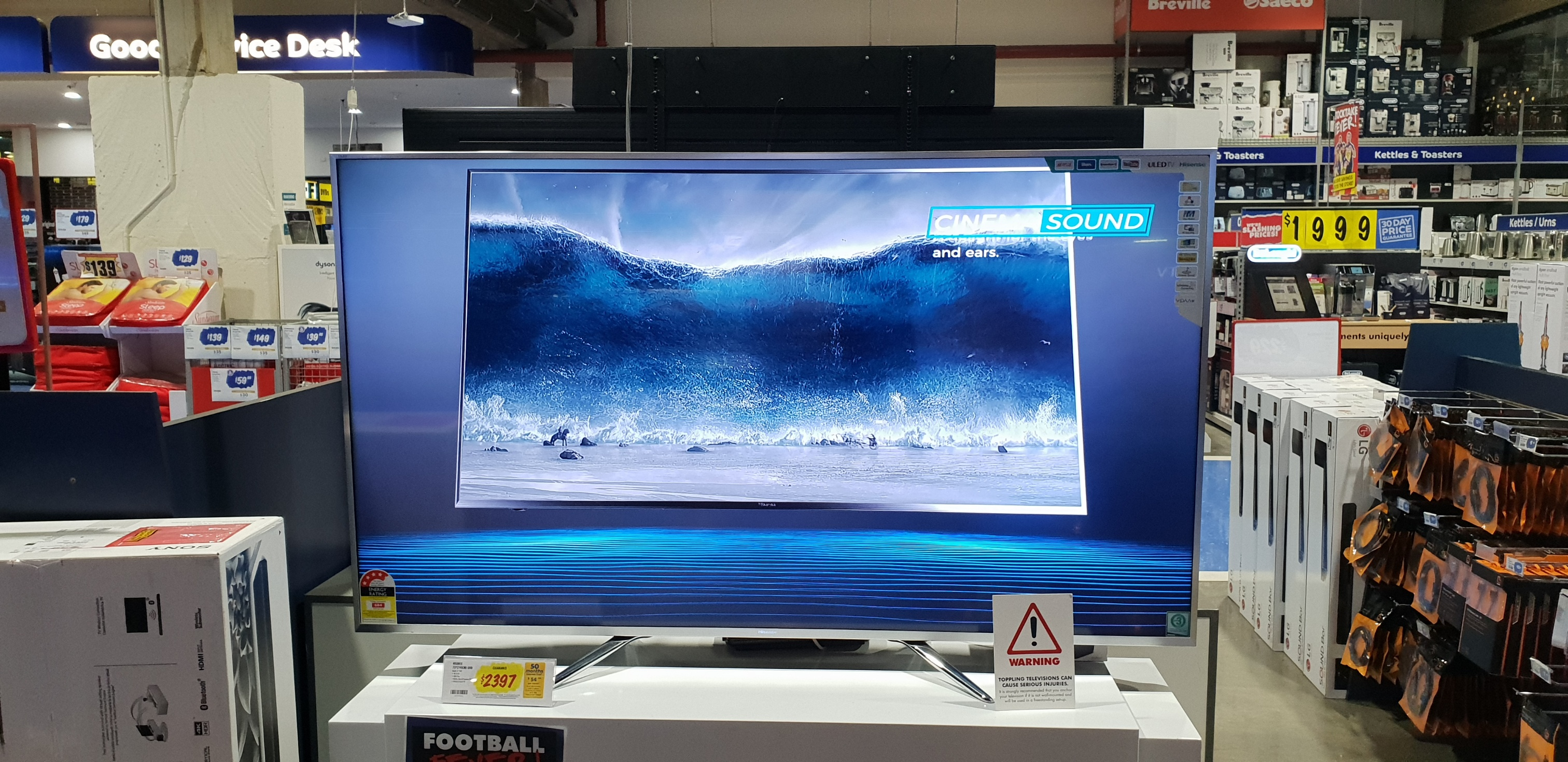 Hisense TV's Not So Brilliant When You Get Them Home – channelnews