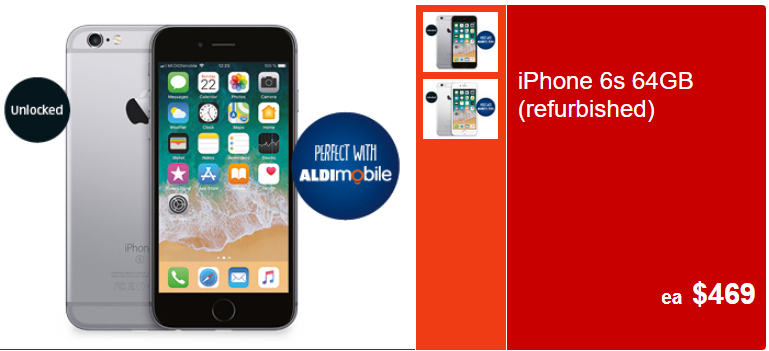 ALDI Unveils $469 iPhone 6s For Father's Day - SmartHouse