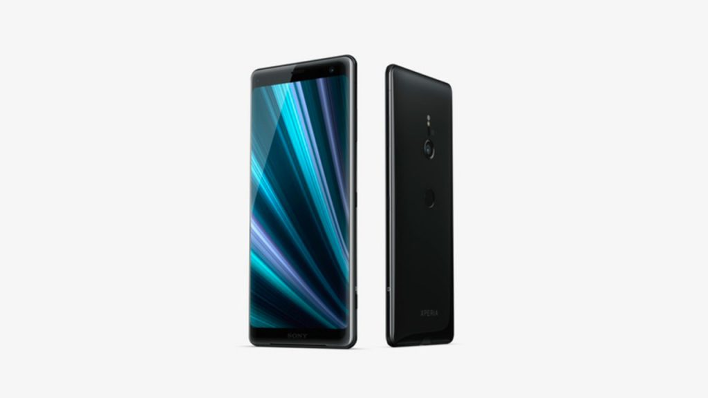 sony xperia xz3 front back black 1280x720 1024x576 Sony Launches New Smartphone With OLED Display & Dynamic Vibrator