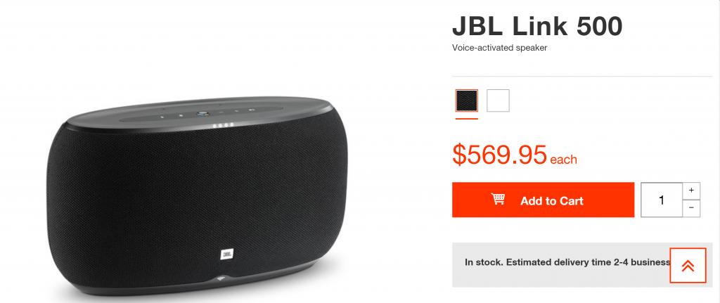 JBL Link 500 1024x431 JBL Takes on Google Home Max With New Link 500