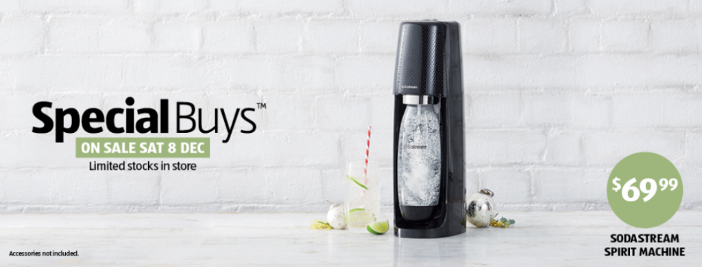 sodastream 1024x390 ALDI Unveils Sodastream Spirit For $70