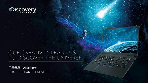 Discovery x msi Wallpaper 3840x2160 1 CES 2019: MSI Launch 'PS63 Modern' For Creatives