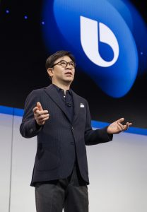 HS Kim President and CEO of Consumer Electronics Division Samsung Electronics at CES 2019 Samsung Press Conference 5 1024x1477 208x300 CES 2019: Samsung Expand 'Connected Car' With HARMAN