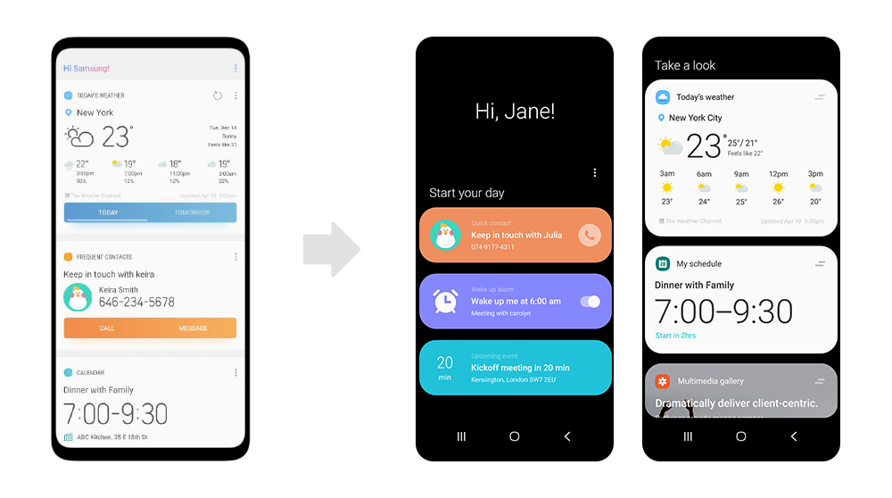 One UI main 2 Samsung Reveal Galaxy S10 & Foldable Phone Launch Date