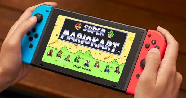 nintendo switch super mario kart 600x315 Nintendo Tipped To Unveil New Switch In June