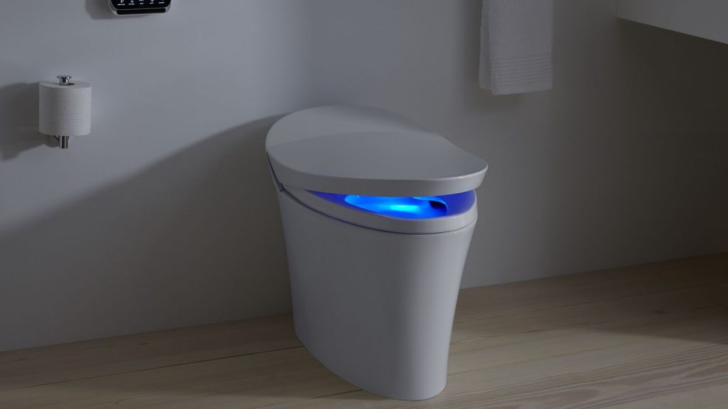 smart toilet kohler veil From Dunny Seats To TVs & Garden Shades, Voice Control Is Taking Over