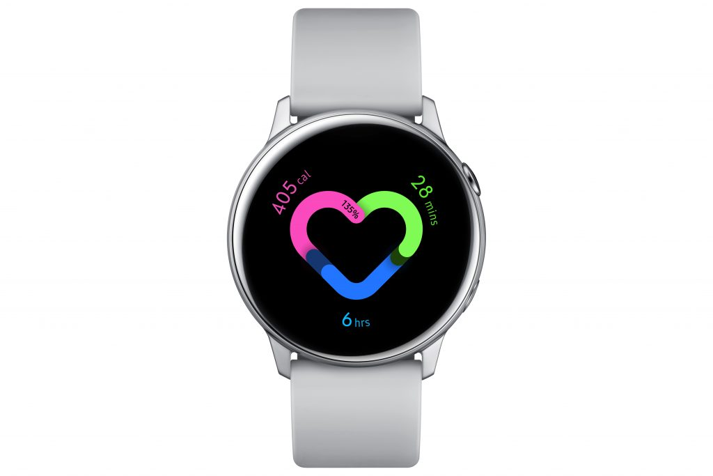 04. Galaxy Watch Active Silver FIRST LOOK: Samsung Galaxy Watch Active