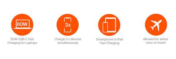 ChargeUp Pro 27K grande Cygnett Takes On Belkin With 27K 'Laptop Power Bank'