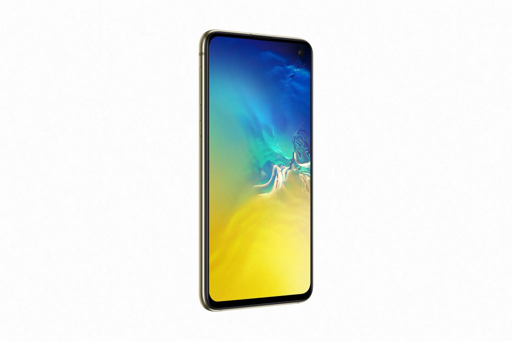 Galaxy S10e Canary Yellow side1 Samsung Launch Affordable Premium 'Galaxy S10e'